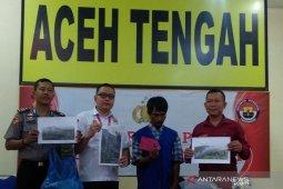 Polisi tahan pelaku pembakaran lahan di Aceh Tengah