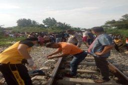 Pencari barang bekas di Tebing Tinggi tewas digilas KA