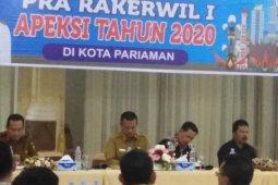 Wakil Wali Kota Tebing Tinggi ikuti pra rakerwil Apeksi di Pariaman