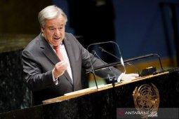 Sekjen PBB: Dunia harus hindari dampak virus corona