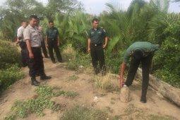 Operator alat berat temukan mortir masa perang Jepang di gampong Jawa, Banda Aceh