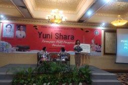 PGRI kukuhkan Yuni Shara sebagai tokoh perempuan  penggerak pendidikan
