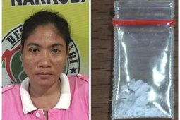 Satresnarkoba Polres Binjai tangkap perempuan warga Tanjung Jati pengedar sabu-sabu