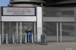 Virus corona buat sejumlah pertandingan sepak bola Italia tanpa penonton