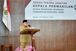 Gubernur: pemeriksaan profesional oleh BPK baik bagi tata kelola keuangan