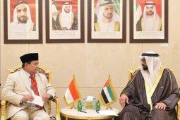 Menhan Prabowo kunjungan ke Kemhan UEA perkuat diplomasi pertahanan