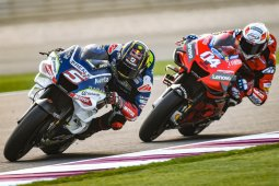 Pebalap Prancis Zarco semakin klop dengan motor Ducati