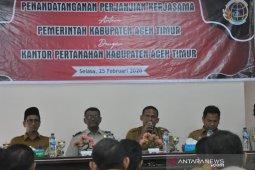 Pemkab Aceh Timur harap BPN segera tuntaskan sengketa tanah