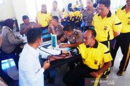 Polda Aceh periksa kesehatan personel Polres Bener Meriah