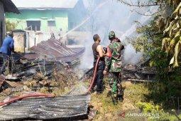 Ditinggal ke pasar, rumah pedagang di Lhokseumawe ludes terbakar