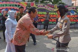 AKBP Juliani Prihatini: Saya orang baru ingin berkenalan dengan masyarakat Padangsidimpuan