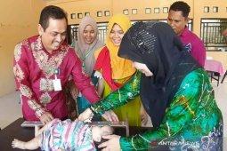 Gebrak stuting Dinkes Aceh Jaya ukur seluruh balita di 200 Posyandu