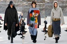 Kenzo tampilkan koleksi busana minimalis nuansa kaum nomaden Asia
