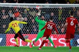 Akhirnya Liverpool tumbang di markas Watford