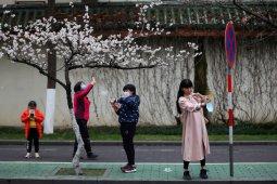 Kasus baru corona di China turun drastis pada 1 Maret