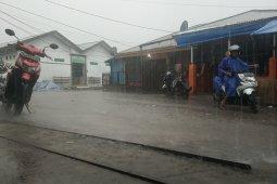 Empat kabupaten di Papua Barat diguyur hujan lebat