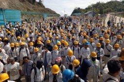 3.000 pekerja asal Tiongkok di PT IMIP wajib thermal scanner setiap hari