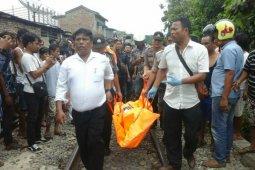 Pria tua tewas terlindas kereta api di Pematangsiantar