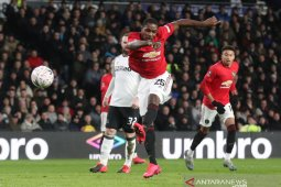 Dwigol Odion Ighalo amankan langkah United ke perempat final Piala FA