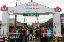 DPKP2 Paser Resmikan Kampung Toga Senaken