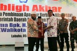 Diundang ke Halmahera Selatan, Walikota Helmi Hasan sampaikan program unggulan