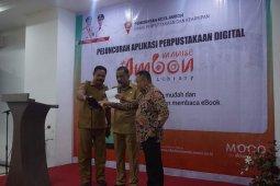 Pemkot Ambon luncurkan aplikasi perpustakaan digital