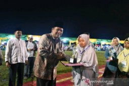 Wali Kota Padangsidimpuan resmi menutup MTQ ke XIX, Padangsidimpuan Utara juara umum