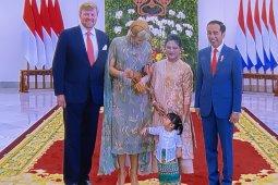 Presiden Jokowi ajak cucu sambut Raja-Ratu Belanda