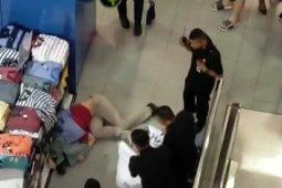 Polisi ungkap identitas pria yang lompat dari lantai 7 Thamrin Plaza Medan