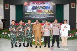 Irjen Pol Baharudin hadiri Rapim TNI - Polri Maluku dan Malut