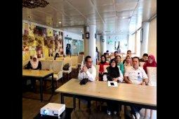 Dinkes Tebing Tinggi kunker ke pabrik obat Bio Farma Bandung