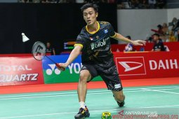 Shesar Hiren Rhustavito terhenti di babak kedua Thailand Open