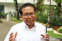 Presiden Jokowi dan jajaran menteri tidak gelar 'open house'