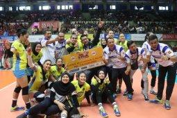 Bandung BJB Tandamata juara putaran dua Proliga 2020