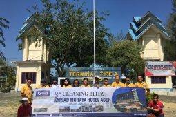 Kyriad bersih-bersih toilet umum antisipasi corona