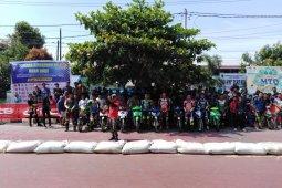Kapolres Tebing Tinggi buka kejuaran Road Race Abarwulan Road Race 2020 piala Wali Kota