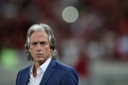 Pelatih Flamengo Jorge Jesus positif terkena virus corona
