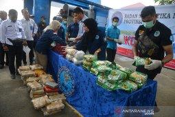 BNNP Aceh musnahkan narkotika asal China
