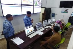 Wali Kota Tebing Tinggi tinjau Command Centre 112 Kominfo