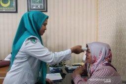 Antisipasi virus corona, sejumlah anggota DPRD Kota Padangsidimpuan cek suhu tubuh
