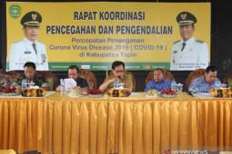 Bupati Tapin Bentuk Tim Sargas Pecegahan Covid-19