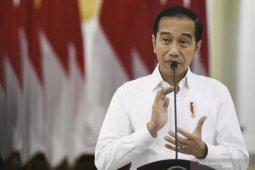 Presiden Jokowi akan kerahkan seluruh kekuatan bangsa untuk tangani COVID-19
