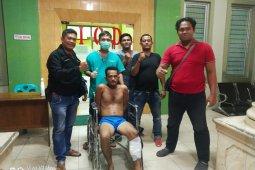Otak pembobol swalayan indomaret ditembak Polisi Binjai Barat