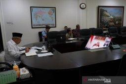 Wapres Ma'ruf Amin nyatakan ODP COVID-19 haram hadiri acara berjamaah