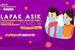 Cegah Penyebaran Covid-19, BPJAMSOSTEK Aktifkan Protokol Lapak Asik