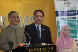 Kasus positif COVID-19 di Malaysia tembus angka 1.030