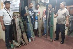 Polisi Binjai Timur amankan pencuri kusen rumah warga