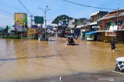 Floods hit seven sub-districts of Bandung District