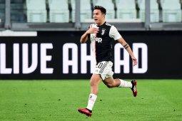 Penyerang Juventus Paulo Dybala positif terjangkit virus corona