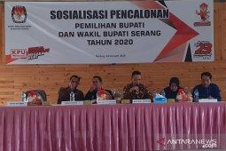 KPU Kabupaten Serang tunda sejumlah tahapan Pilkada